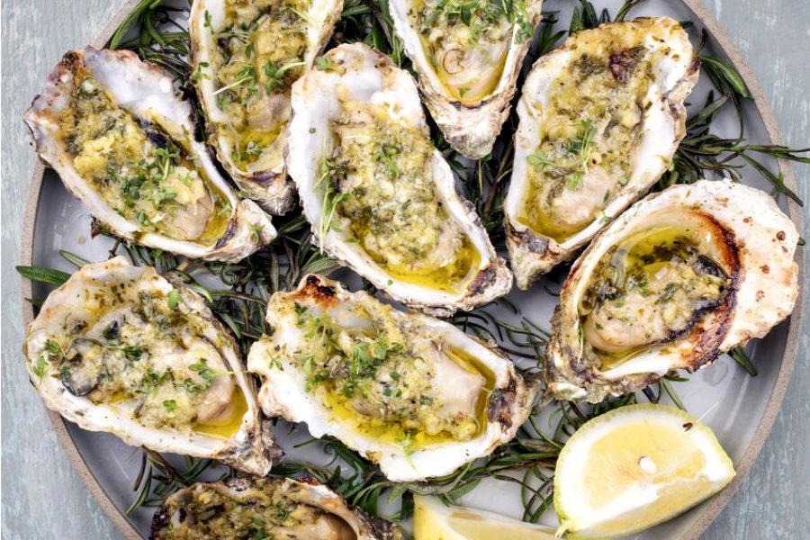 Huîtres Nustrale di Diana en Barbecue d'Hiver